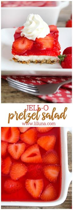 JELLO Pretezel Salad