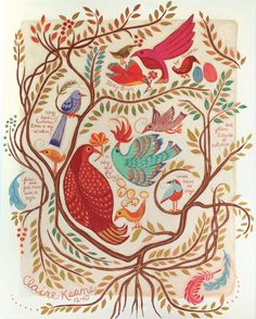 Birdwall by Claire Keane Source: Writer's House Art