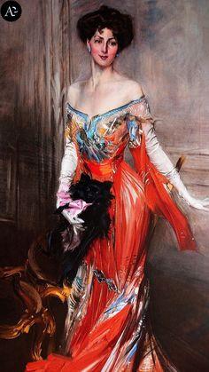Giovanni Boldini | Elizabeth Drexel Lehr