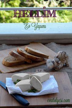 Herkes Hellim peynirinin Kıbrıs'a ait bir peynir çeşidi olduğunu bilir. Benimde ilk evde peynir denemem ona kısmetmiş:) Denemeyi düşündüğüm başka peynirlerde var. İlk denememde anladım ki aslında hiç zor değilmiş. Taze taze eviniz de yapıp peynir yemek isterseniz ve hellim peynirini seviyorsanız işt