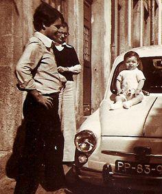 Mom+dad+son and a Fiat 750    #FiatFamily