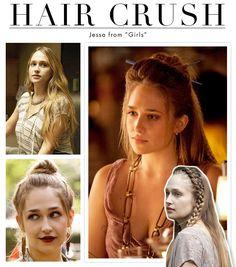 "Hair Crush: Jessa from ""Girls"" | Daily Makeover"