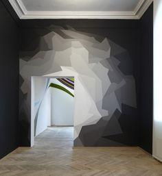 décoration, formes géométriques, graphique, intérieur, lignes, matériaux, murs…
