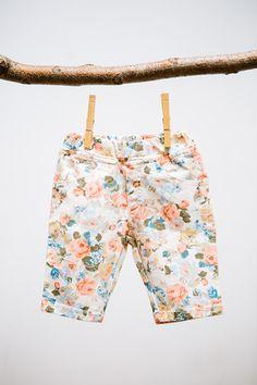 Floral Knee Length Shorts