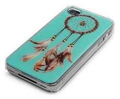 iPhone Cover Case for 4/4S iPhone - DREAMCATCHER LOGO DESIGN