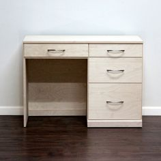 Gothic Cabinet Craft - Flat Iron Desk with 4 Drawers, $419.00 (http://www.gothiccabinetcraft.com/flat-iron-desk-with-4-drawers/)