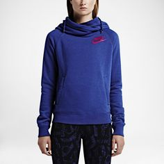 I love the colour of the Nike hoodie