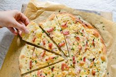 Flammekueche (Alsatian Pizza) Recipe+on+Chocolate+%26+Zucchini