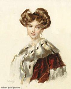 наталья гончарова жена пушкина - Поиск в Google