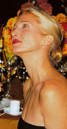 The beautiful Carolyn Bessette Kennedy...one of my favorite icons