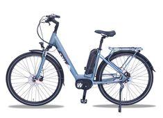 Das WEE Calcite Damen City E-Bike mit niedrigem Einstieg ist hervorragend ausgestattet und spricht durch ein ausgewogenes und modernes Design an. Auch die Technik kann überzeugen mit dem 250W starken Mittelmotor (90Nm) und dem leistungsstarken 630 Wh Akku von Samsung (im ECO Modus bis zu 150KM).