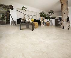 Travertine Chiara  Effect Tiles at Italian Tile and Stone