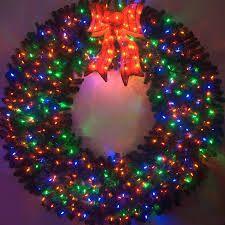 5 Foot Christmas Magic Wreath | Large christmas wreath, Wreaths ...