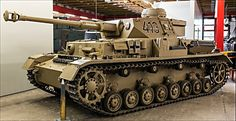 This German Panzerkampfwagen IV tank Ausführung G can be found at the Deutsches Panzermuseum in the small military town of Munster, Germany.