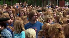 Fast Track visits the Redhead Day Festival in the Dutch city of Breda.