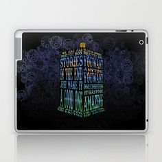 Doctor ho Blue Phone Booth Typography LAPTOP & IPAD SKIN #laptop #skin #case #ipad #ipadskin #digitalart #digital #graphicdesign #drawing #ink #pen #colored #pencil #typography #streetart #vintage #tardis #doctorwho #drwho #superwholock #wholock #whovian #davidtennant #10thdoctor