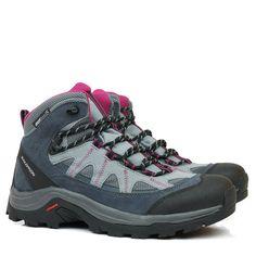 Bota Salomon Authentic Gore Tex Cinza - Compre Aqui - Black Boots