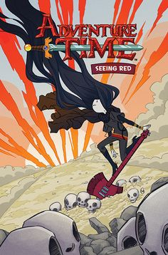 Hot on the heels of the two original graphic novels by Danielle Corsetto and Zack Sterling, KaBOOM! has revealed exclusively to Newsarma that they're doing a third original graphic novel this March, Adventure Time: Seeing Red written by Kate Leth, the acclaimed creator of the webcomic Kate or Die (www.kateordiecomics.com) and many recent Adventure Time comics and covers. We did a quick chat with Leth about her upcoming GN and her other projects.