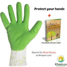 #Free eBook with every purchase of Gardening Gloves from Khozi.co! BUY our Multipurpose #Gardening Gloves NOW, still at the special #sale price of only $10.49 and #save as much as 61% off, PLUS get the eBook 'Guide to Urban Gardening' for free, No #Voucher Needed! Avail now at @Amazon.com http://www.amazon.com/dp/B01109G2EC