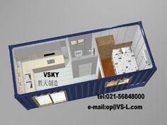 Shipping Container Layout Storage Homes Van Office Cargo