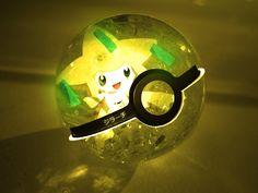 The Pokeball of Jirachi by wazzy88.deviantart.com on @deviantART