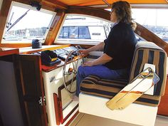 Boat ergonomics.