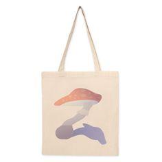 Bolso de tela Z de seta. Bolso de algodón con diseño del artista Tierra. Compra miles de productos originales en Señor Cool.