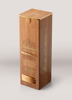 Ballantine's Whisky - 21 Year Old Signature Oak Edition on Behance