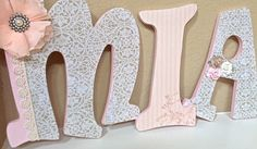 Hanging Nursery Letters By Beautifulbabyofmine 72 00 Crafts Pinterest And Baby