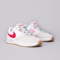 Nike Sb Project BA White / Crimson - Crimson - Light Bone | Flatspot