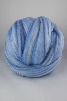 SALE Superfine merino wool roving 19 microns 4 by DivinityFibers, $12.00