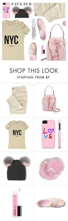 """""""Wow Factor: Faux Fur (16)"""" by samra-bv ❤ liked on Polyvore featuring Street Level, Eugenia Kim and Ted Baker"""