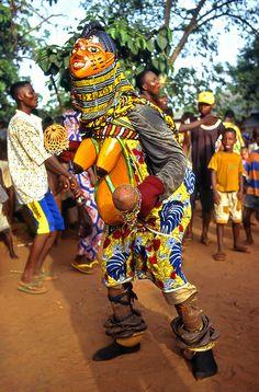 Celebration in Benin
