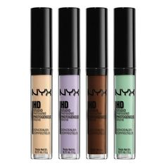 The NYX HD Concealer Wand is perfect for correcting blemishes and dark spots   http://www.hercampus.com/school/fsu/beauty-products-every-broke-college-girl-needs