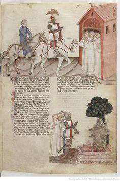 La Quête du Saint Graal et la Mort d'Arthus, de « GAUTIER MAP ».