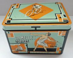 Van Melle Toffee Tin for the 1928 Olympic Games