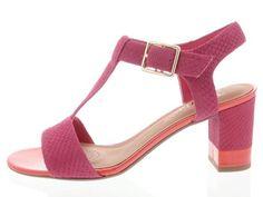 Schoenen - Clarks: Smart Deva | Buitenkant Clarks, Sandals, Heels, Leather, Fashion, Heel, Moda, Shoes Sandals, Fashion Styles