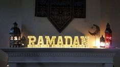 Oh Ramadan! Come forth for the hearts are ill... Do you know that #Ramadan is just some 125 days away in sha allah? Do you miss it? Who will have this Ramadan as her 1st one bi idhnillah? p.s. As I promised last year, these Ramadan letters will be available on the website within next month in sha allah ❤ p.s. Can the owner of the picture DM us ❤ Вот эти буквы светящиеся будут под заказ ин ша Аллах.
