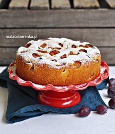 Plum Cake, Polish Recipes, Bagel, Nom Nom, French Toast, Muffins, Food And Drink, Bread, Apple