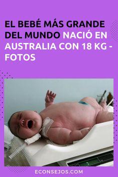 Conoce al bebé más grande del mundo Grande, World, Real People, Classy Nails, Life Lessons, Life Tips, Famous Artists, Pictures, Bebe