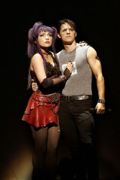 Scaramouche and Galileo Figaro in We Will Rock You