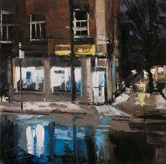 "Saatchi Art Artist c jeremy price; Painting, ""Depanneur Kuan"" #art"