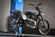Muy guapa la Harley Davidson XR 750 #StreetTracker by Roadstar92 #motorcycles #motos | caferacerpasion.com