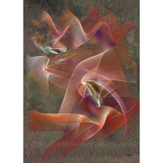 Enhanced Ribbon - By John Robert Beck  This art was created in 2011. Enhanced Ribbon is a abstract composition. $3.00