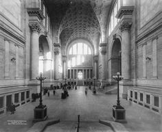 Penn Station in 1911 (long before its untimely and shameful demise)