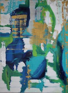 gracie - original abstract painting
