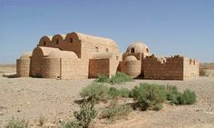 Qasr Amra. Built in the early 8th century, this exceptionally well-preserved desert castle was both a fortress with a garrison and a residence of the Umayyad caliphs