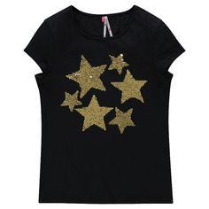 Junior - Tee-shirt manches courtes réversible à sequins  Main