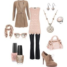 nudes & vintage pink....I seriously cannot get enough of cremes & nudes with vintage pink .....so classic.