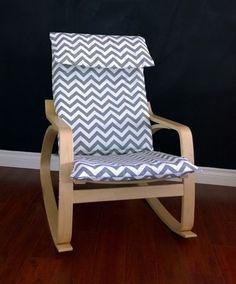 Herringbone Chevron Rocking Chair Cushion, Patchwork Chair Pad | Chair  Cushion Covers, Rocking Chair Cushions And Rocking Chairs